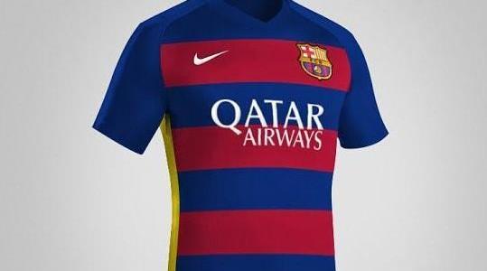 Nueva Camiseta del Barça temporada15/16